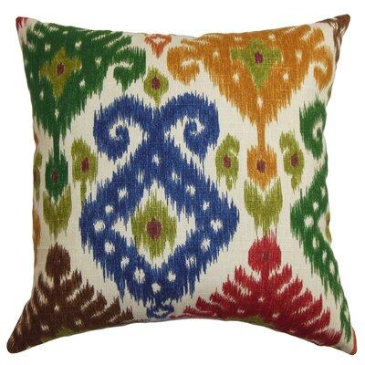Hartland Ikat Cotton Throw Pillow Cover