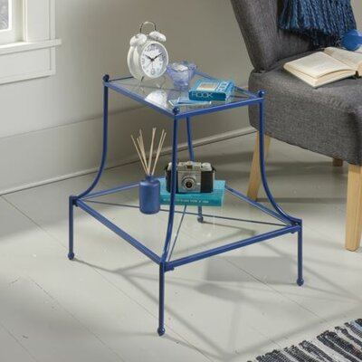 Mora End Table Finish: Blue