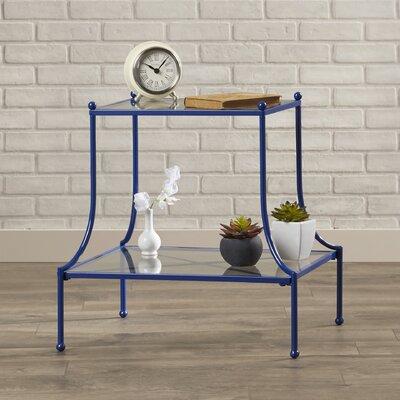 Almelo End Table Color: Blue