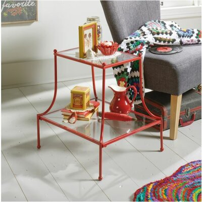 Mora End Table Finish: Red