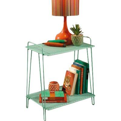 Naquin End Table Color: Green