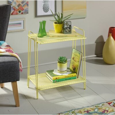 Naquin End Table Color: Yellow