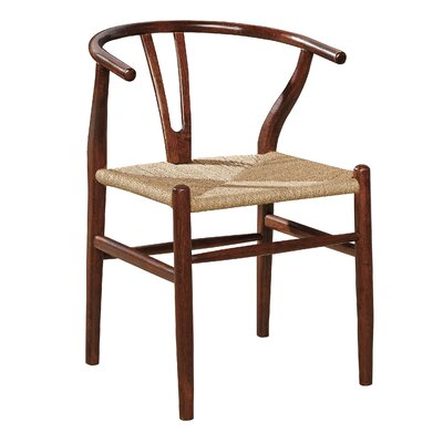 Buchanan Armchair Color: Brown Birch / Oak