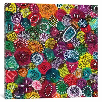 Autumn Jewels Graphic Art on Wrapped Canvas