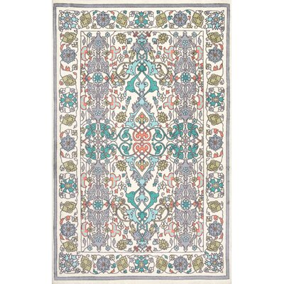 Collins Blue/Yellow Area Rug Rug Size: Rectangle 6 x 9