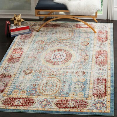 Doline Oriental Area Rug Rug Size: Rectangle 3 x 5