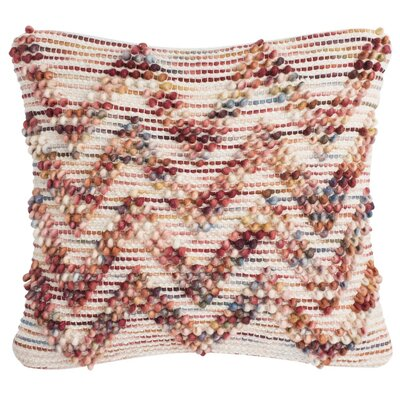 Esme Looped Chevron Throw Pillow