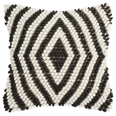 Lovington Diamond Loop Throw Pillow