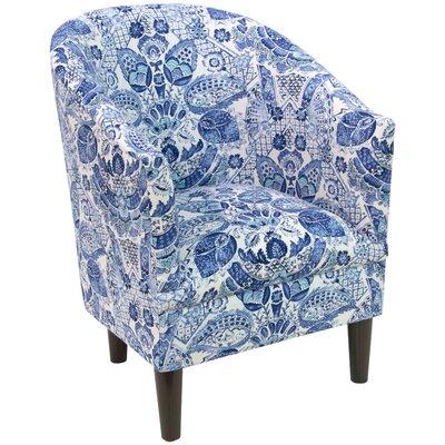 Slama Barrel Chair Upholstery: Porcelain