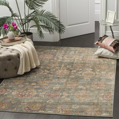 Beausejour Gray Area Rug Rug Size: Rectangle 21 x 4