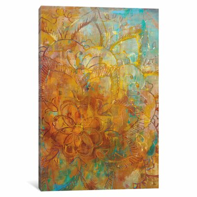Bohemian Abstract Bright I Painting Print on Wrapped Canvas