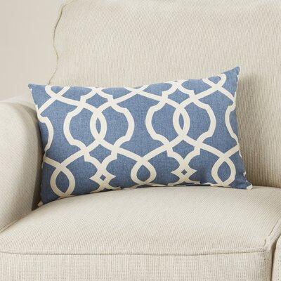 Mistana Brennan Cotton Lumbar Throw Pillow