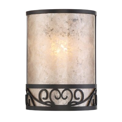 Enschede 1-Light Pocket Wall Sconce
