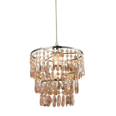 Joplin 1-Light Crystal Pendant