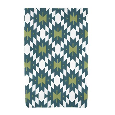 Willa Jodhpur Kilim 2 Beach Towel Color: Teal
