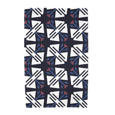 Willa Jodhpur Ditsy Beach Towel Color: Navy Blue