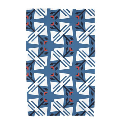 Willa Jodhpur Ditsy Beach Towel Color: Blue