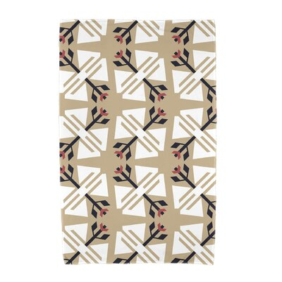 Willa Jodhpur Ditsy Beach Towel Color: Taupe/Beige