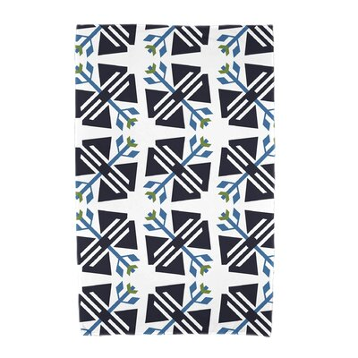 Willa Jodhpur Ditsy Beach Towel Color: White
