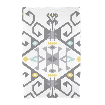 Willa Jodhpur Medallion 2 Beach Towel Color: Gray