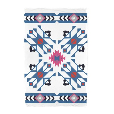 Willa Jodhpur Border 4 Beach Towel Color: Blue