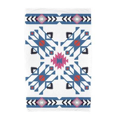 Willa Jodhpur Border 4 Beach Towel Color: Blue