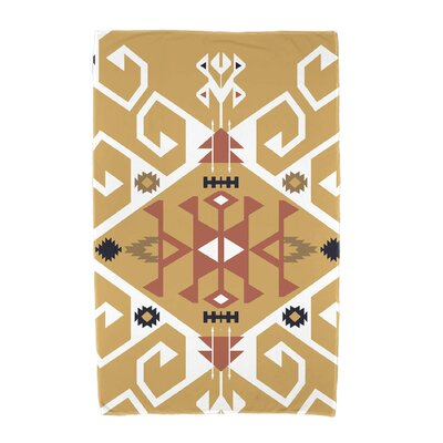 Willa Jodhpur Medallion Beach Towel Color: Gold