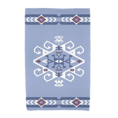 Willa Jodhpur Border 3 Beach Towel Color: Blue
