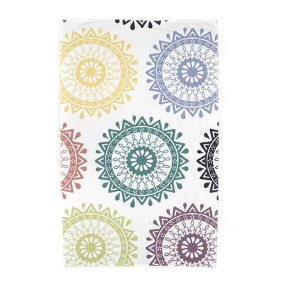 Willa Groovy Geometric Print Beach Towel