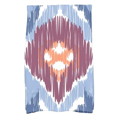 Willa Hand Towel Color: Blue/Purple