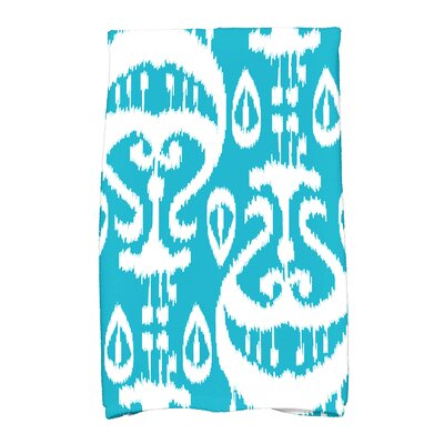 Willa Hand Towel Color: Turquoise