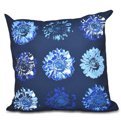 Willa Floral 2 Outdoor Throw Pillow Size: 18