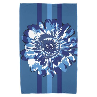 Willa Flower Child 2 Beach Towel Color: Blue