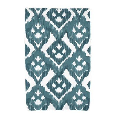 Willa Gypsy Floral Beach Towel Color: Teal