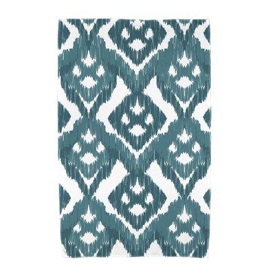 Willa Gypsy Floral Beach Towel Color: Teal
