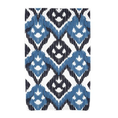 Willa Gypsy Floral Beach Towel Color: Blue