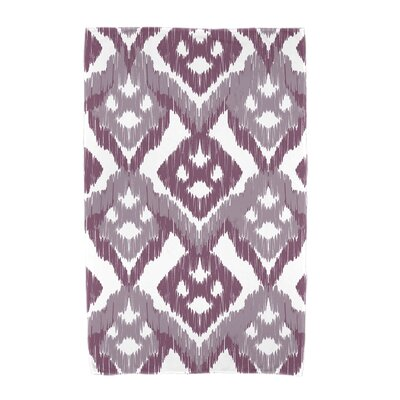 Willa Gypsy Floral Beach Towel Color: Lavender
