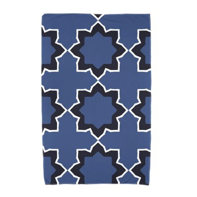 Willa Bohemian Beach Towel Color: Blue