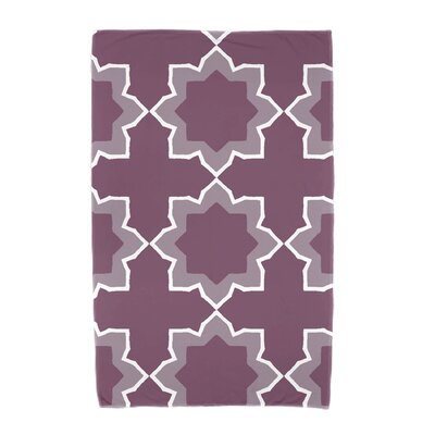 Willa Bohemian Beach Towel Color: Purple