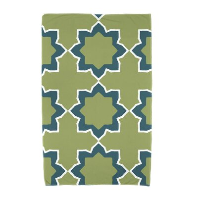 Willa Bohemian 2 Beach Towel Color: Teal