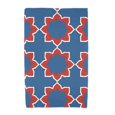 Willa Bohemian 2 Beach Towel Color: Blue