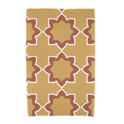 Willa Bohemian 2 Beach Towel Color: Gold