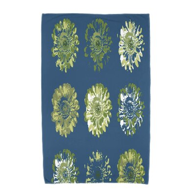 Willa Gypsy Floral 2 Beach Towel Color: Teal