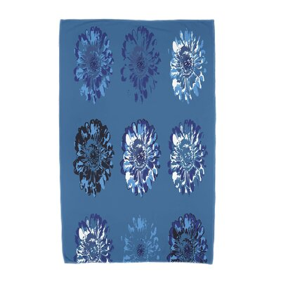Willa Gypsy Floral 2 Beach Towel Color: Blue