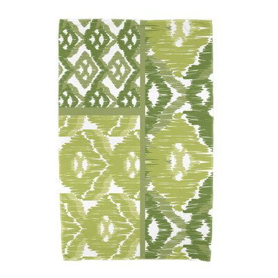 Willa Free Spirit Beach Towel Color: Green