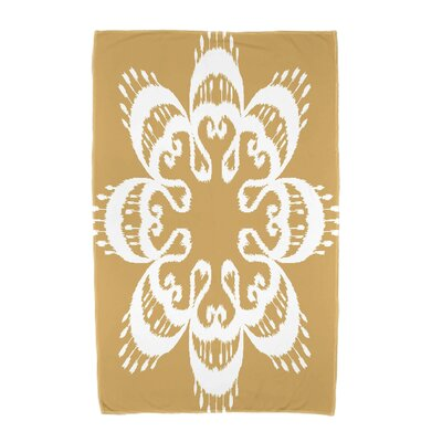 Willa Ikat Mandala Beach Towel