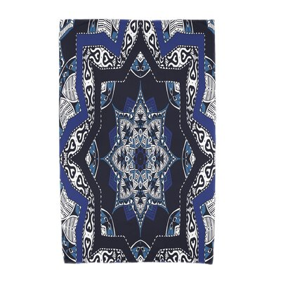 Willa Beach Towel Color: Navy Blue
