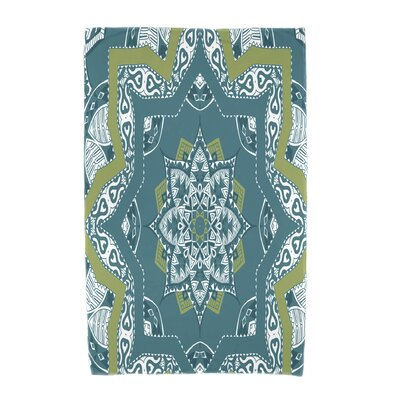 Willa Beach Towel Color: Teal