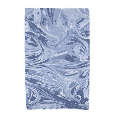 Willa Melange Beach Towel Color: Blue