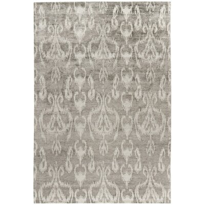 Lucas Hand-Knotted Gray Area Rug